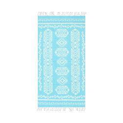 Aztec Kilim Goemetric Large Beach Towel - 39 x 70 Soft Turki