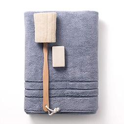 Bamboo Turkish Cotton Bath Towel Odor Resistant Highly Absor