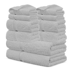FTB Hotel Collection Luxurious Turkish Cotton 10 Pieces Towe