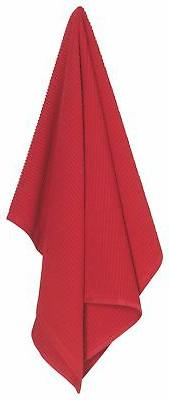 Now Designs Ripple Towel, Red