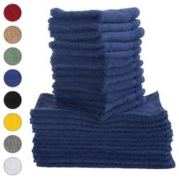 NEW NAVY BLUE Color ULTRA SUPER SOFT LUXURY PURE TURKISH 100