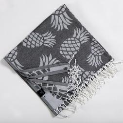 Pineapple Beach Towels | 100% Turkish Cotton Lightweight Sof