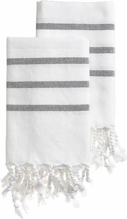 Turkish Cotton Kitchen Bathroom Hand Towels Face Towels, 18'