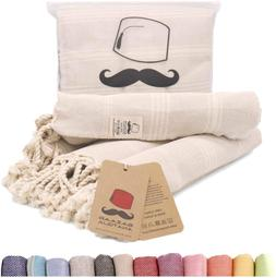Bazaar Anatolia Turkish Hand Towel Set Of 4 Peshtemal Towel