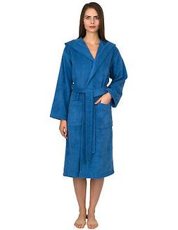 TowelSelections Women's Robe Turkish Cotton Hooded Terry Bat