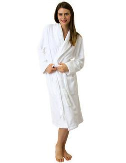 TowelSelections Women's Robe, Turkish Cotton Terry Shawl Bat